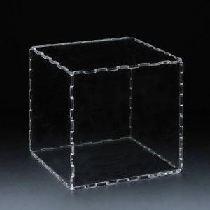 外形サイズ:158mm×158mm×158mm 6面体キューブ